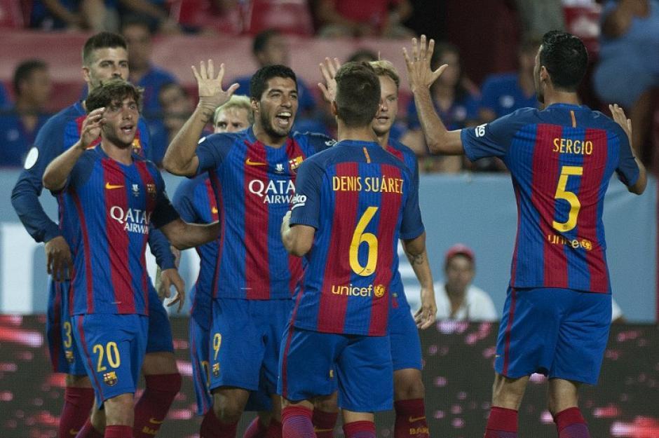 El Barça venció al Sevilla 0-2. (Foto: AFP)