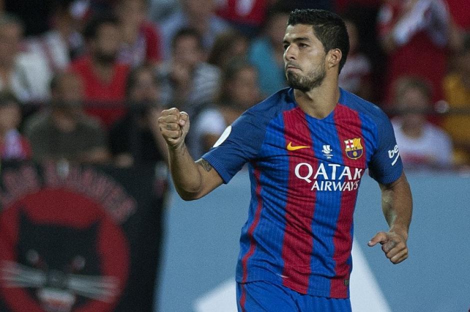 Luis Suárez anotó el primero a pase de Arda. (Foto: AFP)