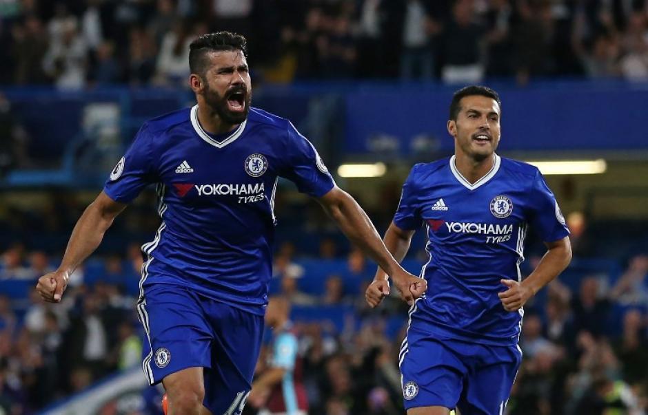 Costa marcó el gol de la victoria en el minuto 89. (Foto: AFP)