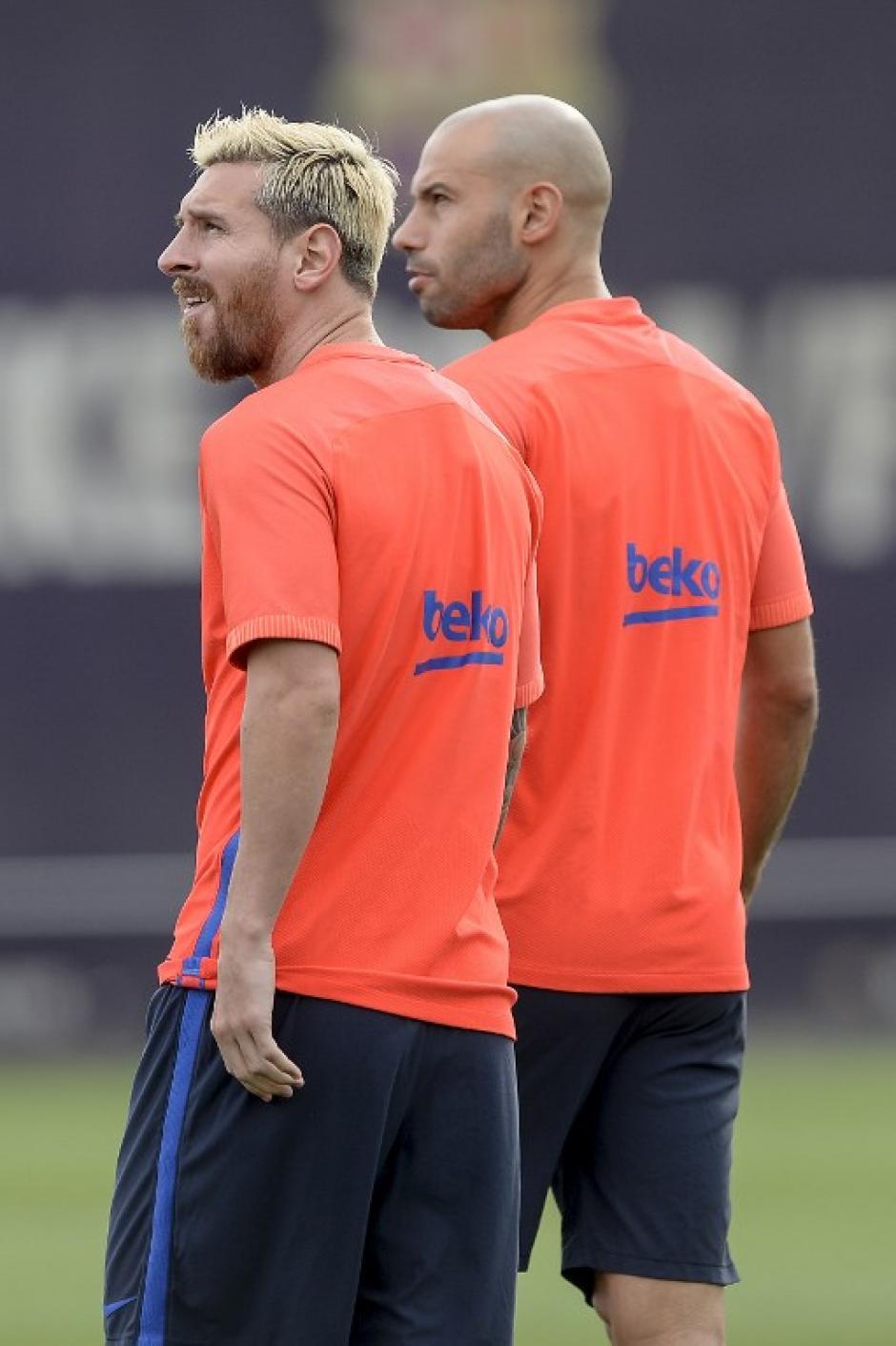 """""""Para todos los argentinos es bueno que Messi regrese"""" dijo Masche. (Foto: AFP)"""