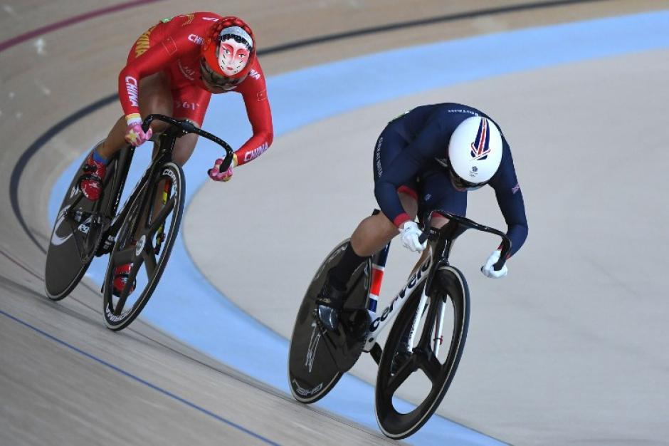 China venció a Alemania y Rusia para subir al tope del podio. (Foto: AFP)