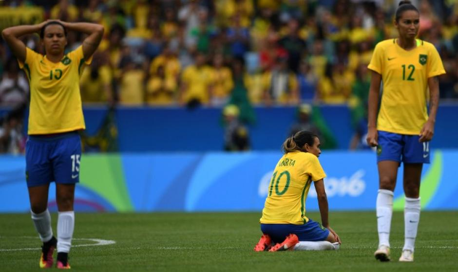 Brasil perdió contra Suecia en penales. (Foto: AFP)