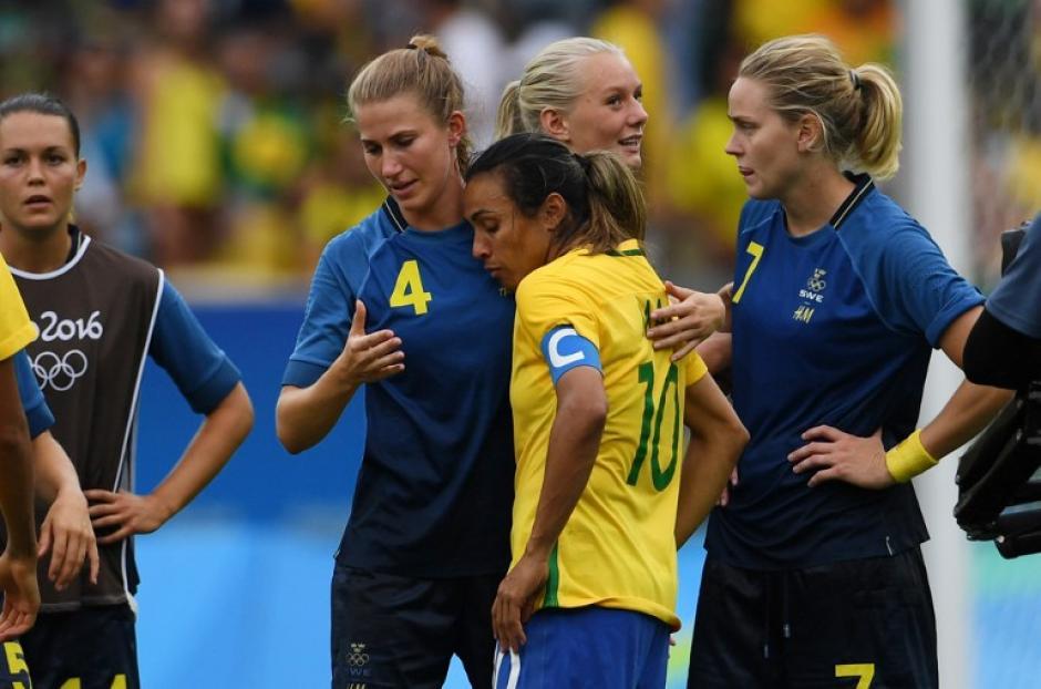 A pesar de ser favoritas, cayeron ante Suecia en penales. (Foto: AFP)