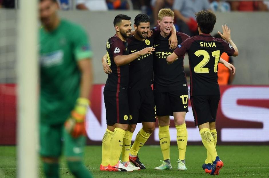 El City de Pep dio buenas sensaciones. (Foto: AFP)