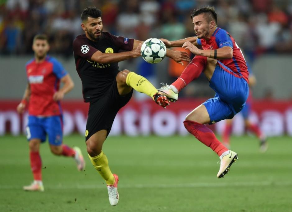 El Steaua de Bucarest no fue rival para los ingleses. (Foto: AFP)
