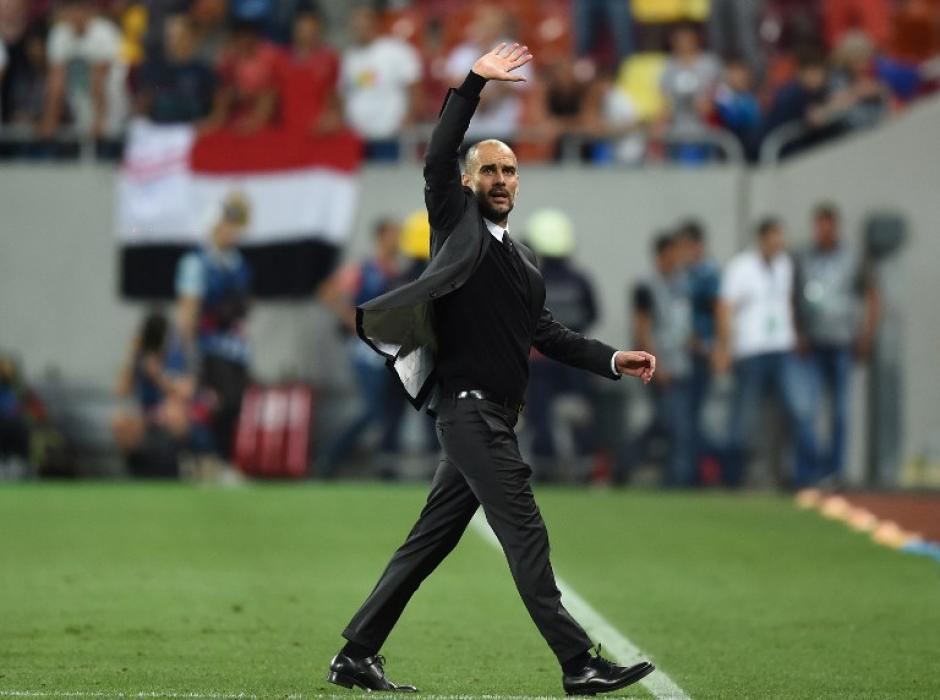 Guardiola se fue satisfecho y estará en la Champions. (Foto: AFP)