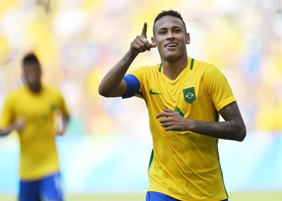 Neymar es el gran líder de Brasil, que busca el oro (Foto: AFP)