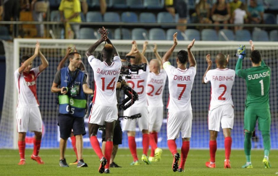 Radamel Falcao no estuvo en el partido por lesión. (Foto: AFP)