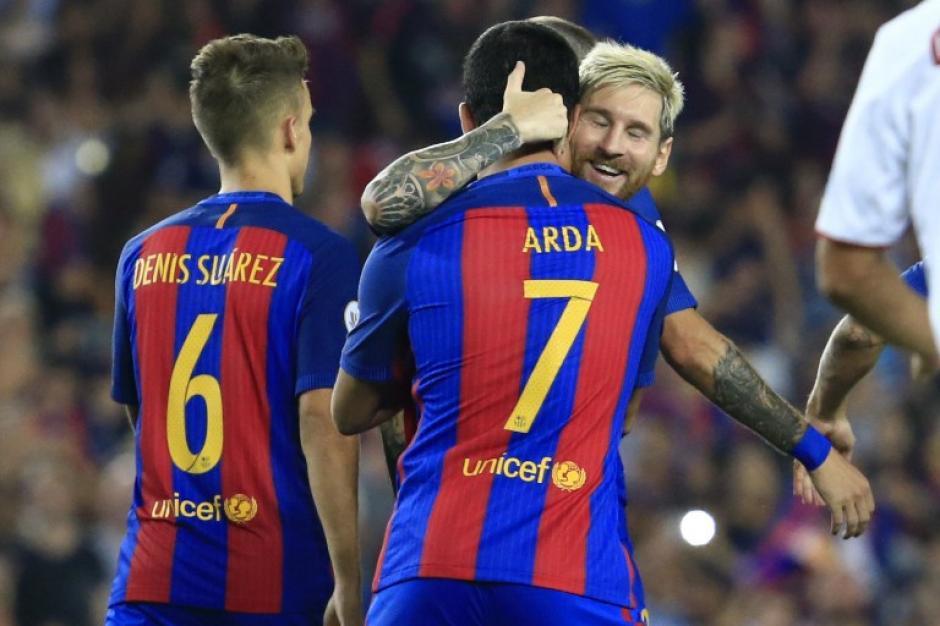 Arda metió dos goles, uno fue un tremendo golazo. (Foto: AFP)
