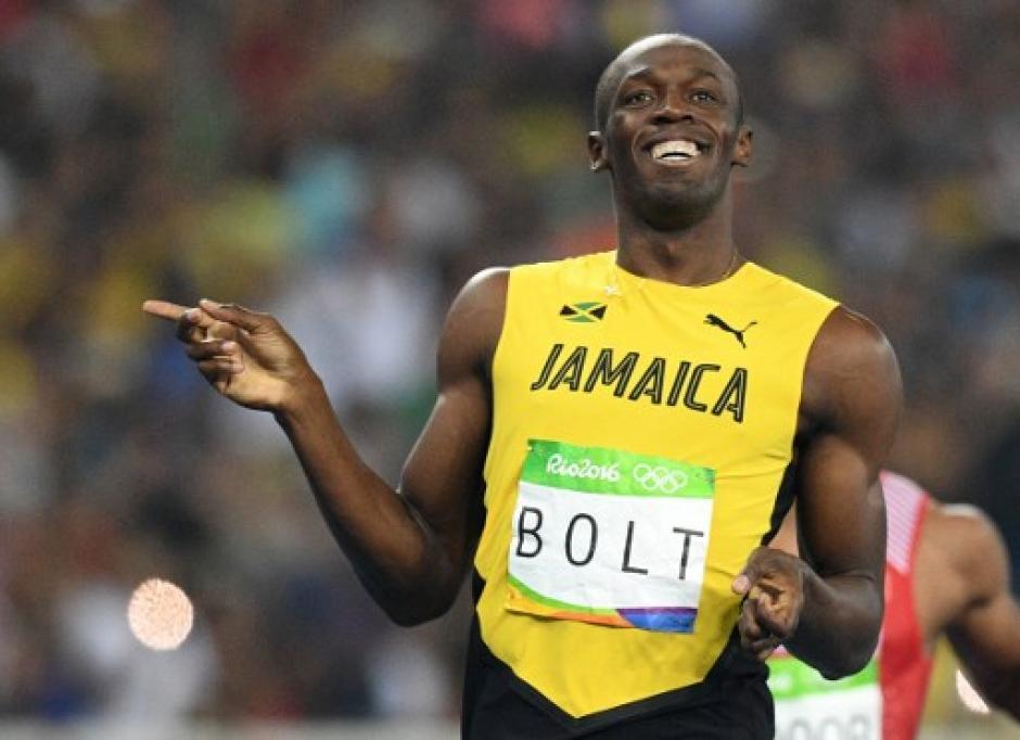 Bolt fue el primero en cruzar la meta de 200 metros planos. (Foto: AFP)