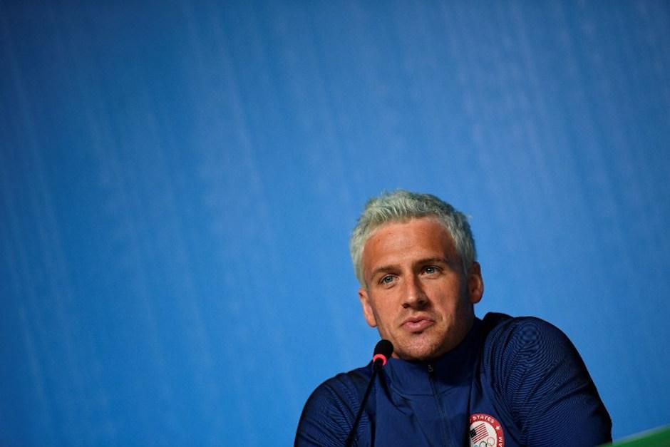 Ryan Lochte es el responsable de inventar la falsa versión del robo y el causante del desastre según sus compañeros. (Foto: AFP)
