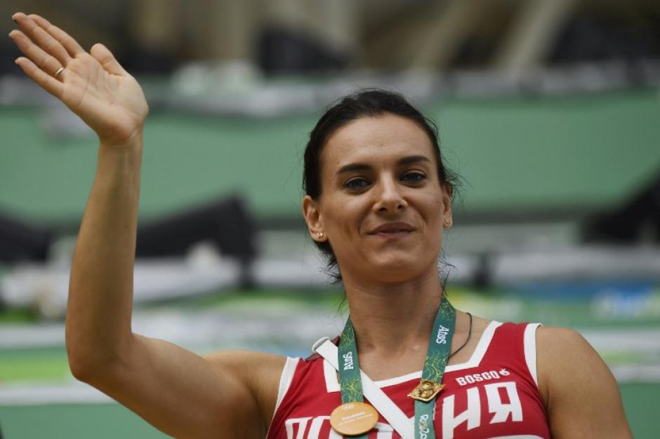 La rusa Yelena Isinbayeva fue la gran ausente de la cita en Brasil.(Foto: AFP)