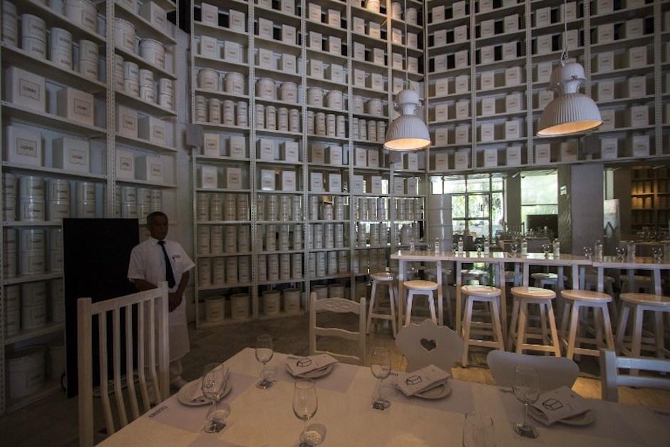 """El hijo del narco fue secuestrado en un restaurante llamado """"La Leche"""" (Foto: AFP)"""