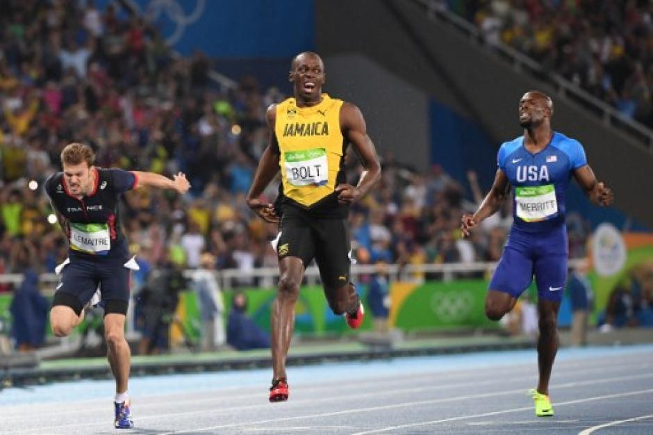 Bolt podría conseguir su tercer triple olímpico si gana en la prueba de relevos. (Foto: AFP)