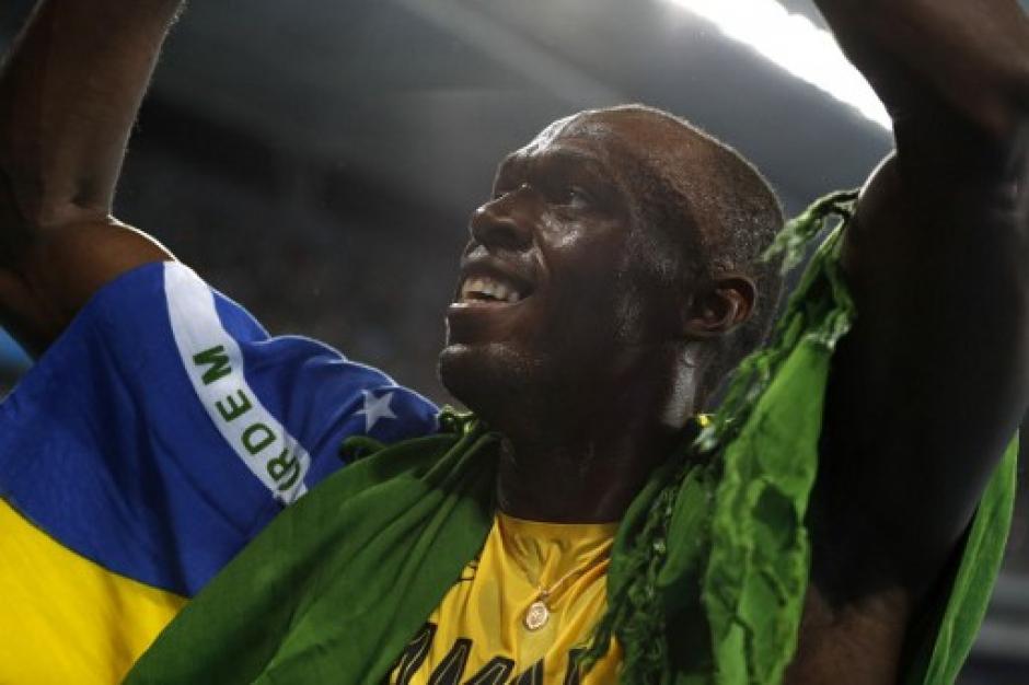 Usain Bolt ganó su segunda medalla de oro en Río de Janeiro. (Foto: AFP)