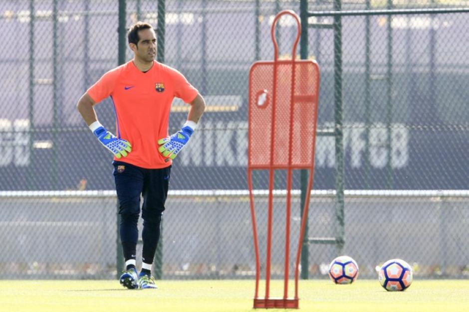El arquero se pondrá a las órdenes de Pep Guardiola. (Foto: AFP)
