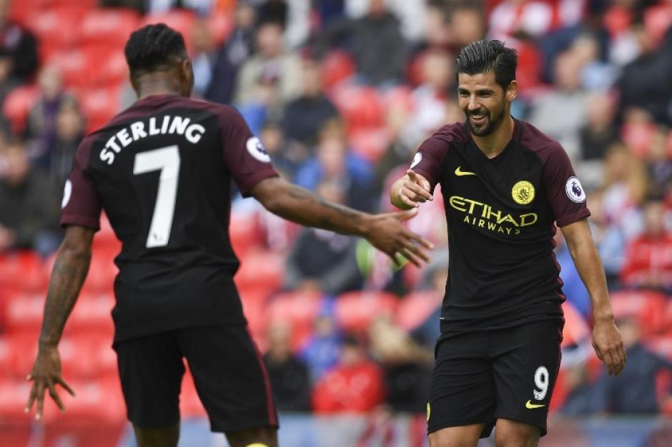 El equipo de Guardiola ganó y se puso líder de la Premier League. (Foto: AFP)