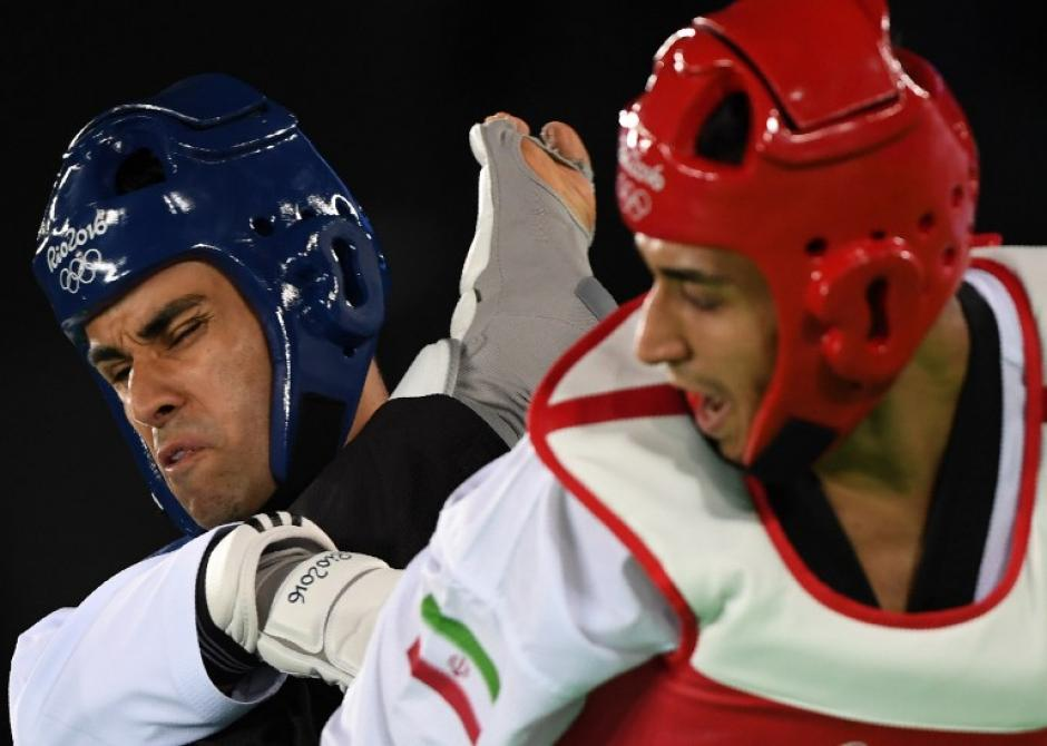 Pita no pudo hacer nada ante un rival muy superior. (Foto: AFP)