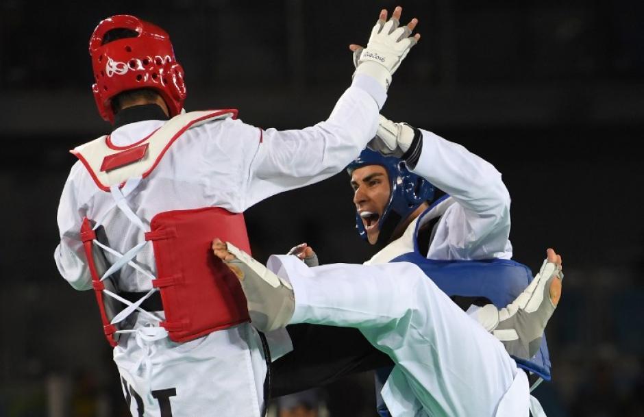 El Iraní Mardani lo dejó fuera en los octavos de final. (Foto: AFP)