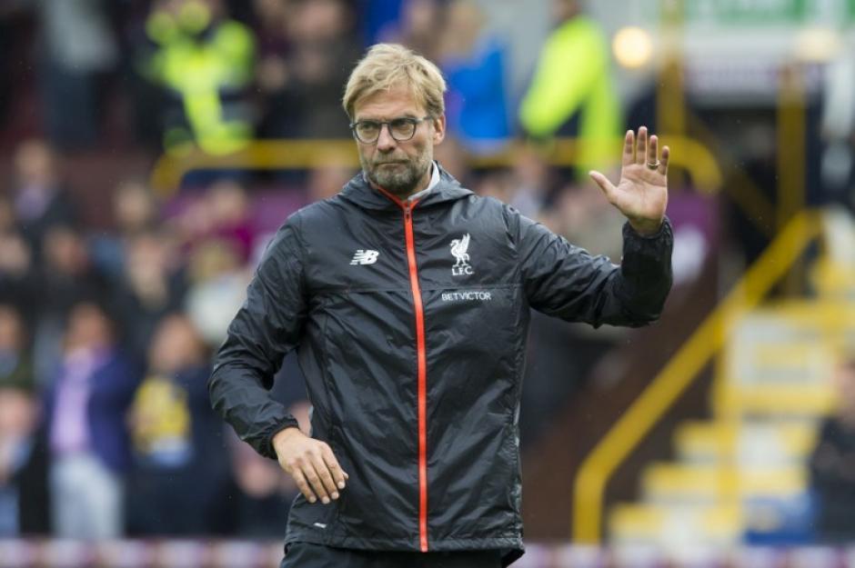 El Liverpool de Klopp perdió ante el Burnley. (Foto: AFP)