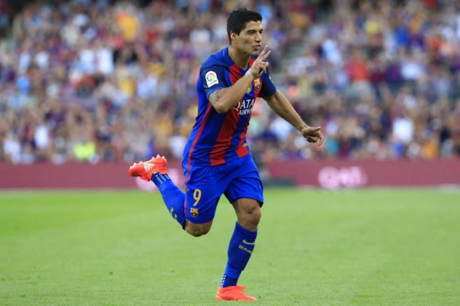 Entre Arda, Messi y Suárez hicieron un perfecto contragolpe. (Foto: AFP)