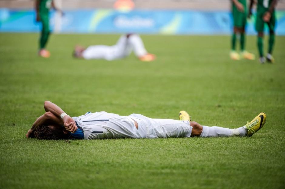 Honduras se quedó sin la medalla de bronce tras perder con Nigeria. (Foto: AFP)