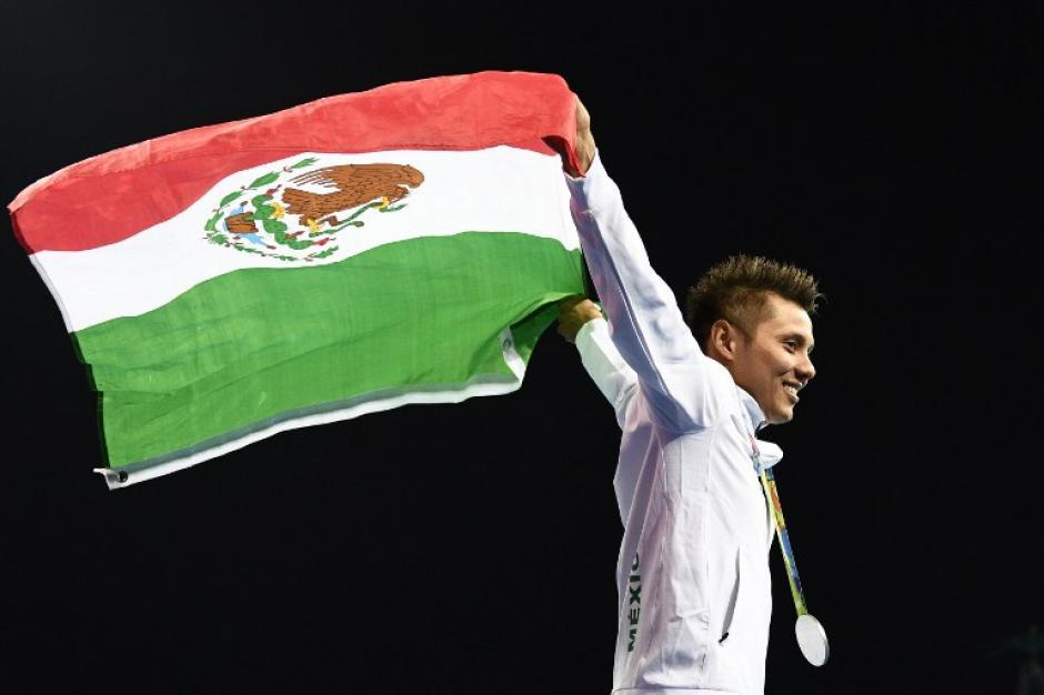 Germán Sánchez obtuvo la medalla de plata en clavados. (Foto: AFP)