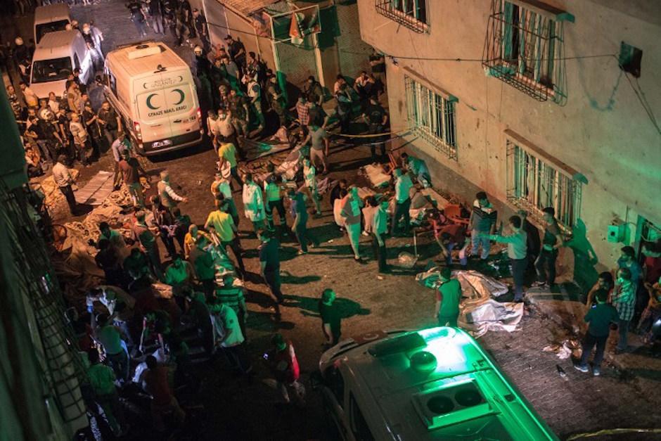 Las autoridades contabilizan 22 muertos y 94 heridos. (Foto: AFP)