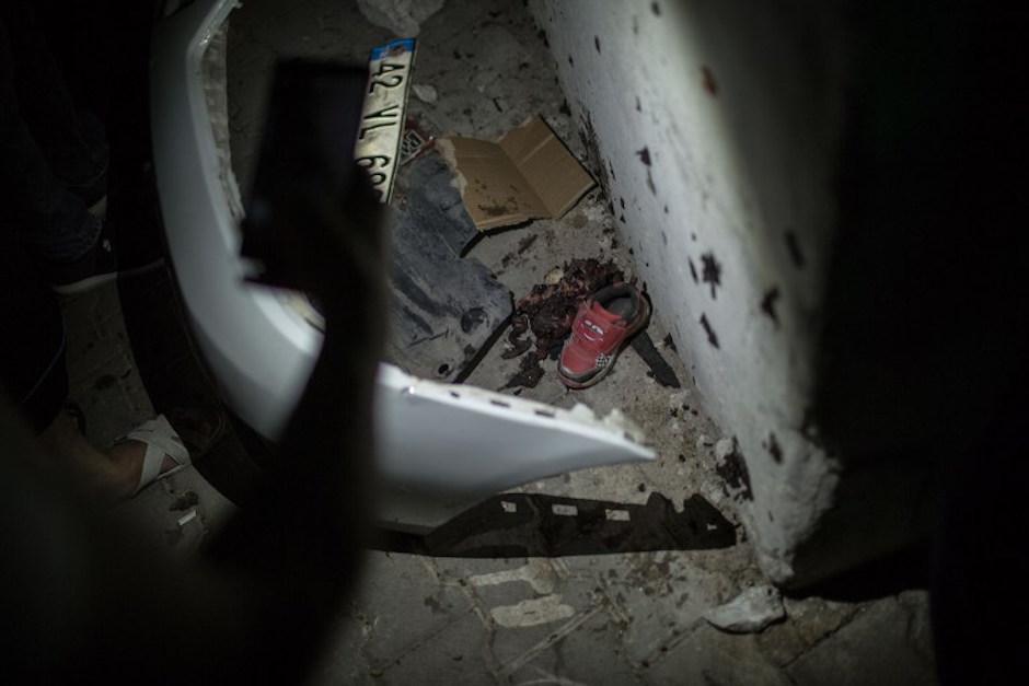 Niños también resultado afectados por el atentado. Foto: AFP)