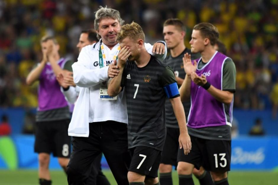 Alemania lo intentó, pero se quedó con la plata. (Foto: AFP)