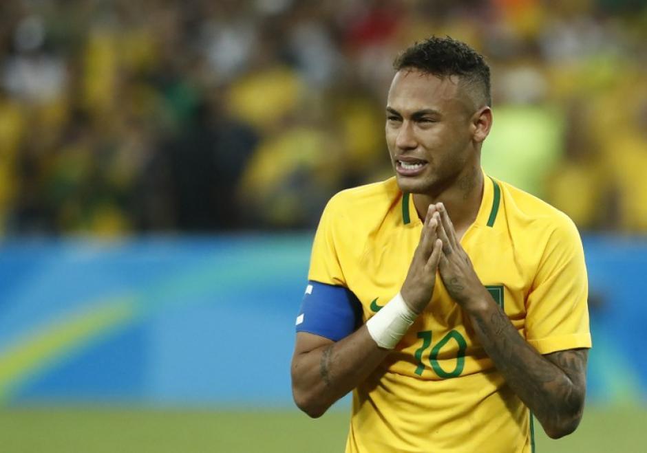 Las lágrimas de Neymar conmovieron a los aficionados. (Foto: AFP)