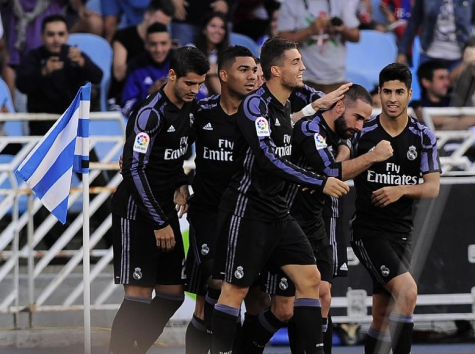 El Real Madrid dejó su portería sin goles. (Foto: AFP)