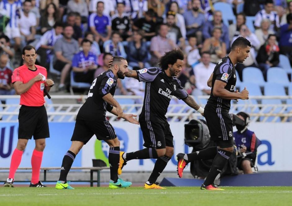 El brasileño es fijo en el once de Zinedine Zidane. (Foto: AFP)