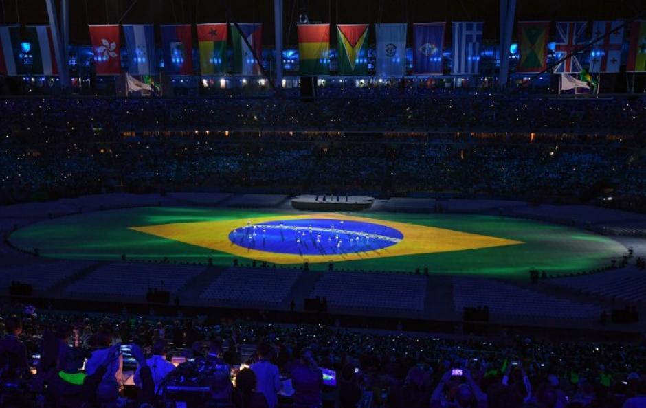 El Estadio Maracaná fue la sede de la clausura . (Foto: AFP)