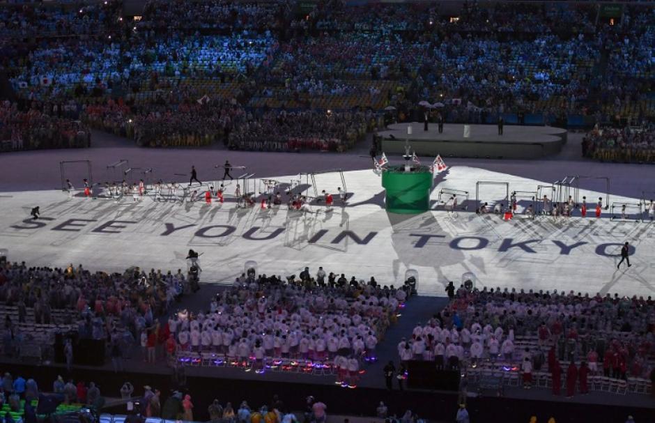 Japón ahora toma la responsabilidad para los próximos Juegos. (Foto: AFP)