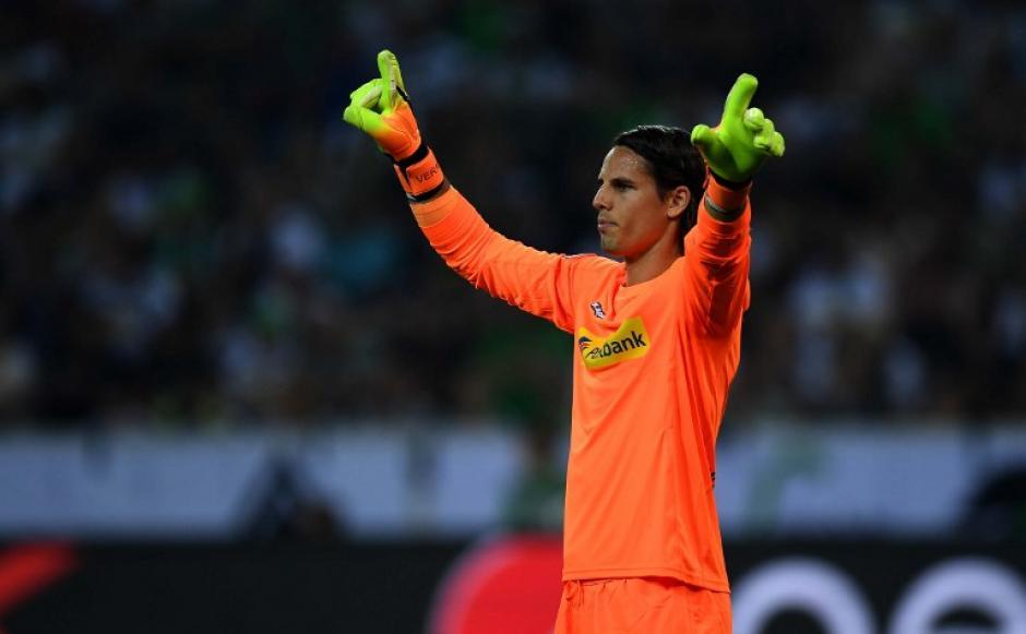 Yann Sommer, portero del Mönchengladbach, celebra un gol (Foto: AFP)
