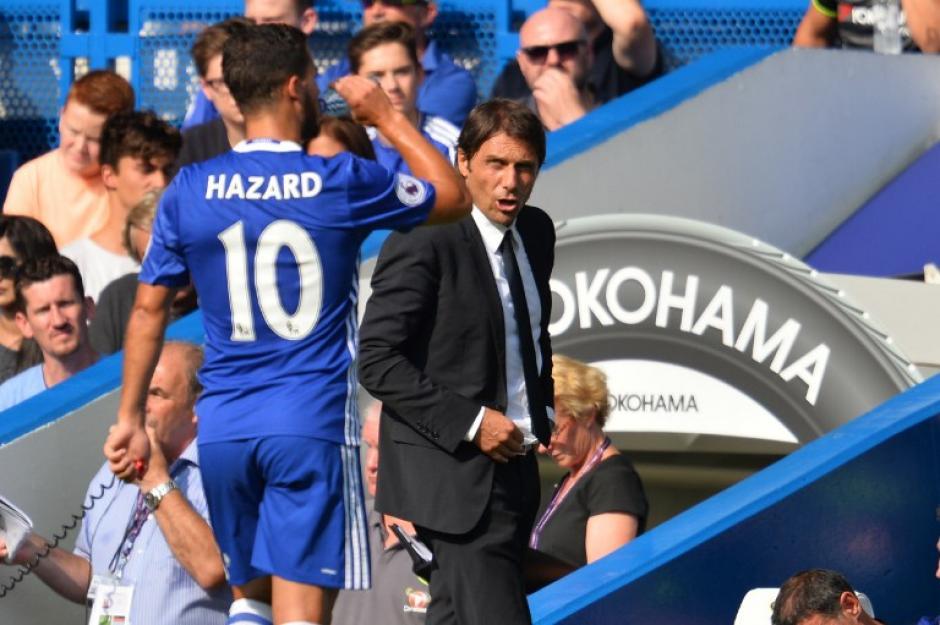 El Chelsea de Antonio Conte también ganó. (Foto: AFP)