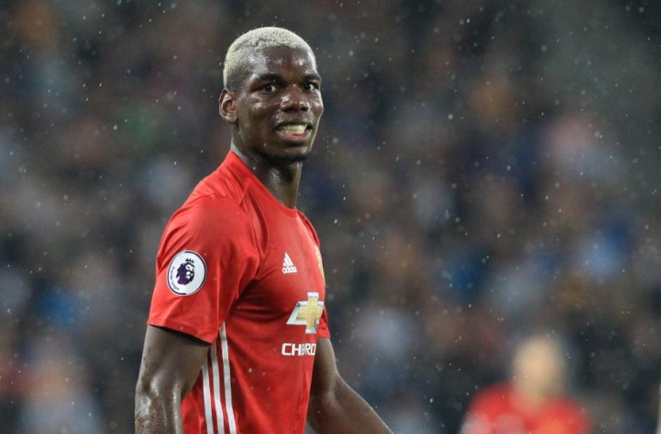 Paul Pogba le respondió a un aficionado en Twitter. (Foto: AFP)