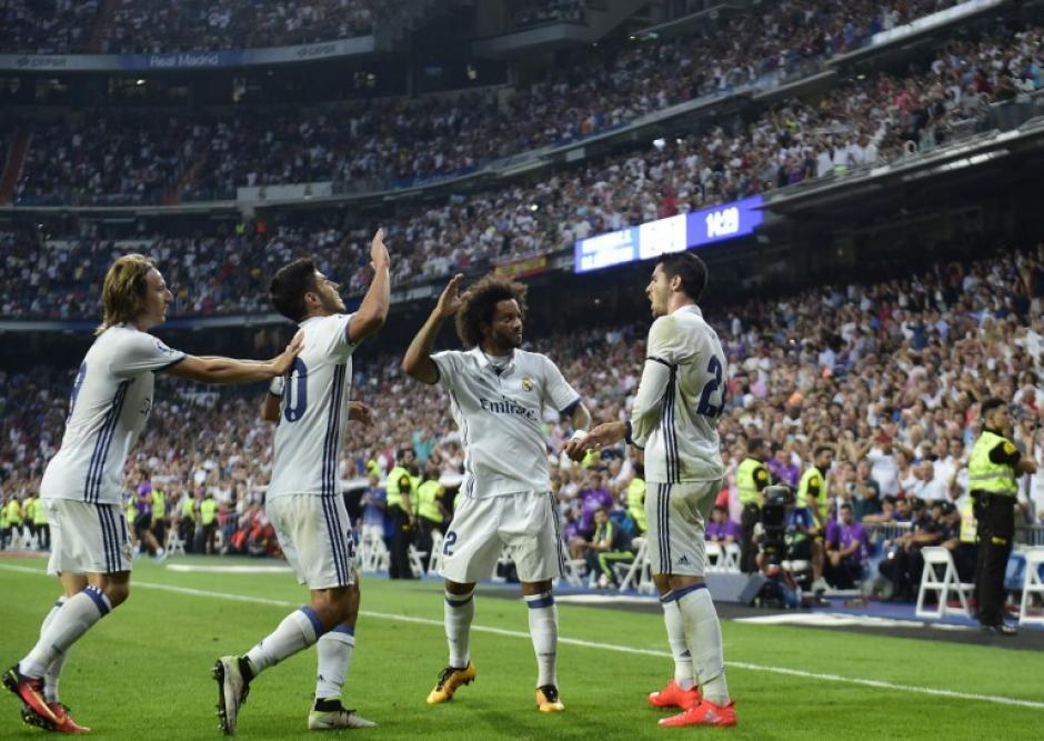 Morata había marcado el primero, en fuera de juego. (Foto: AFP)