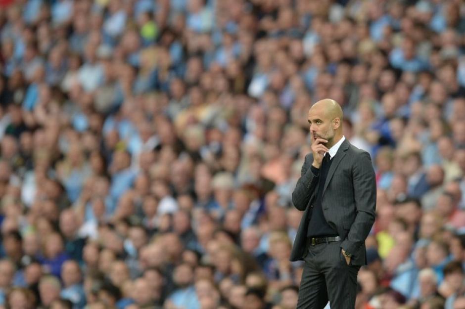 Pep Guardiola lleva cinco victorias en cinco partidos con el City. (Foto: AFP)