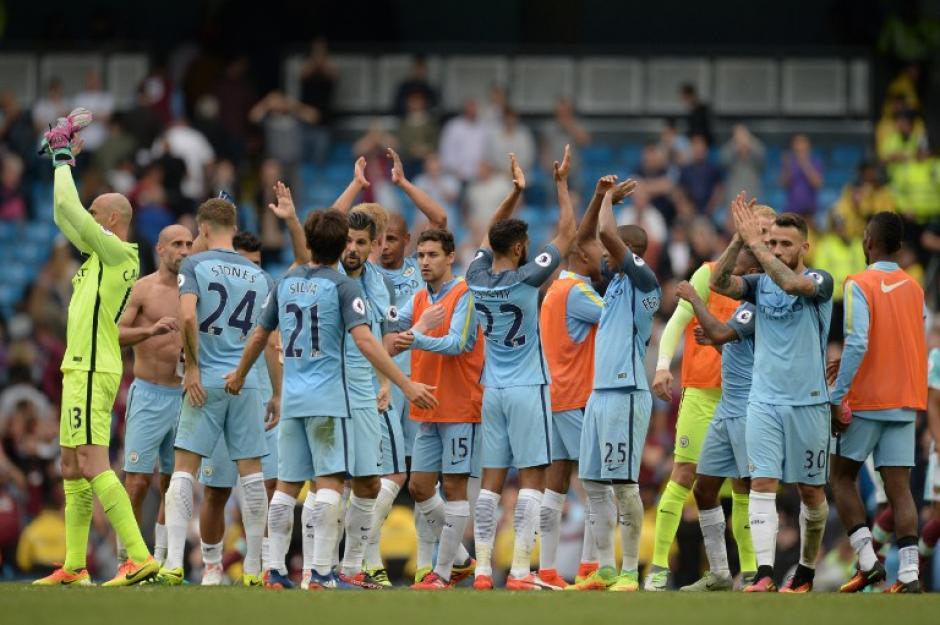 El Manchester City ganó y es uno de los líderes de la Premier. (Foto: AFP)