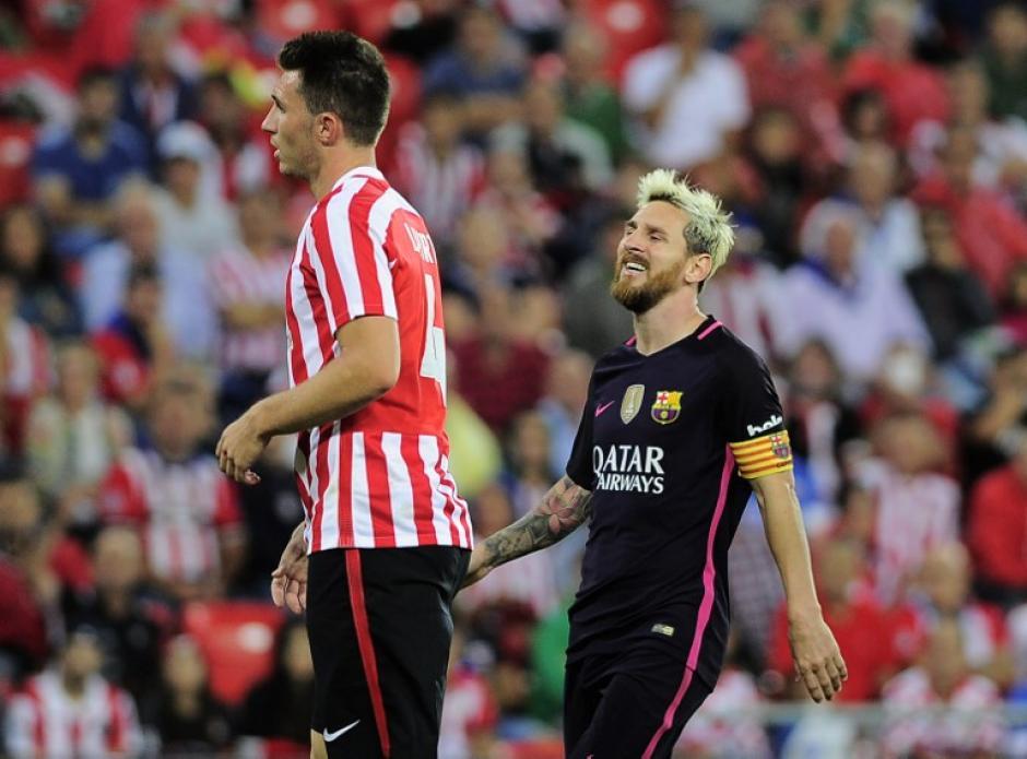 "El Barça negó ""haberle recomendado"" a Messi que no viajara. (Foto: AFP)"