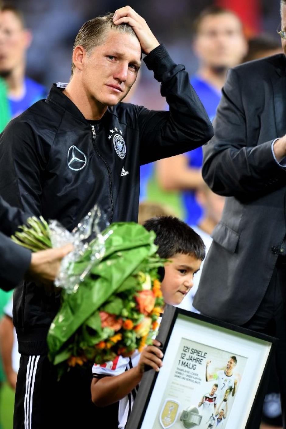 Schweinsteiger se había retirado tras la Euro, pero lo convencieron para volver. (Foto: AFP)