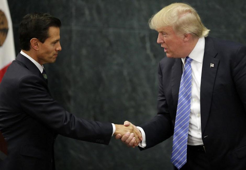 """Los mandatarios aseguraron que la conversación fue """"respetuosa"""". (Foto: AFP)"""