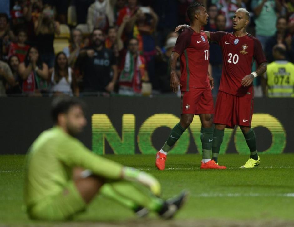 Portugal goleó sin problemas a Gibraltar. (Foto: AFP)