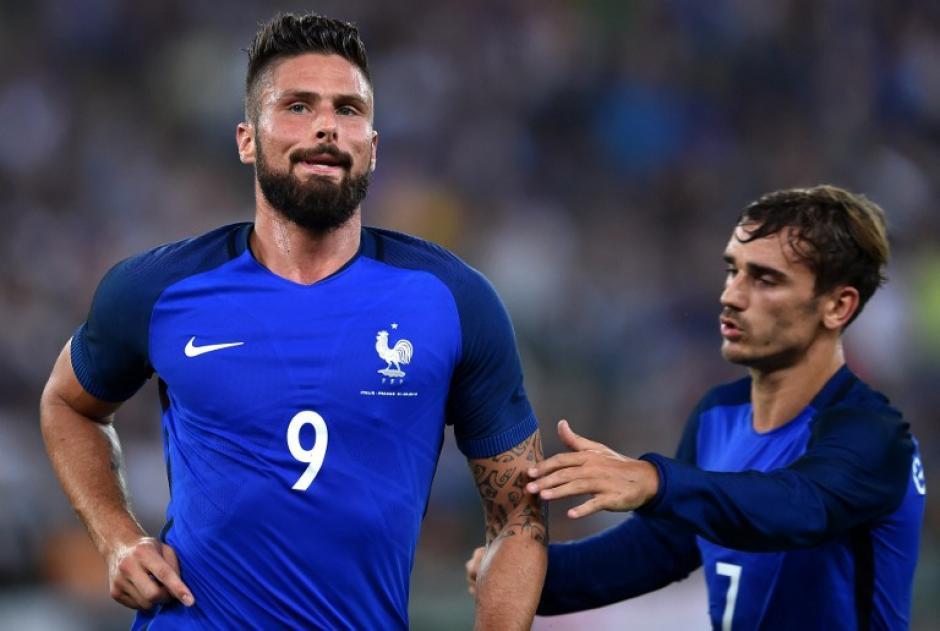 Italia perdió 1-3 contra Francia. (Foto: AFP)
