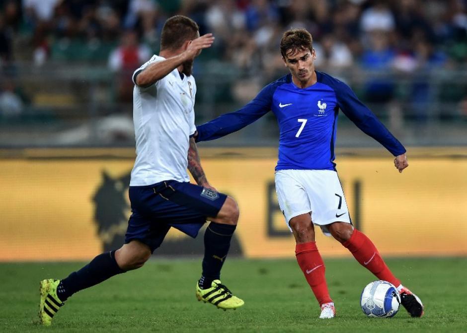 Griezmann no marcó en el triunfo de Francia. (Foto: AFP)