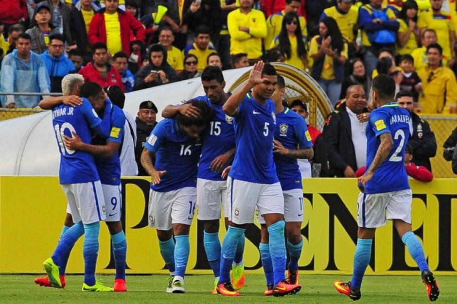 Brasil sumó 12 puntos y ahora espera una derrota de Argentina (Foto: AFP)