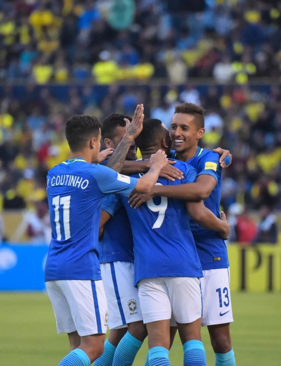 Brasil necesitaba ganar o se hubiera metido en un problema (Foto: AFP)