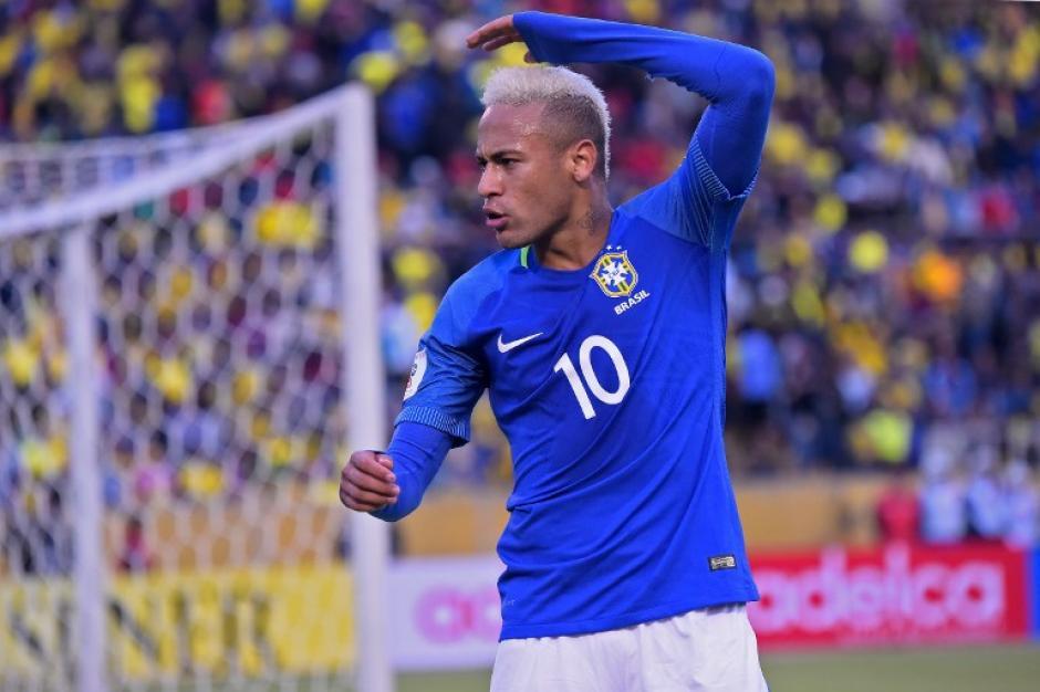 Neymar desató el partido con un gol de penal (Foto: AFP)